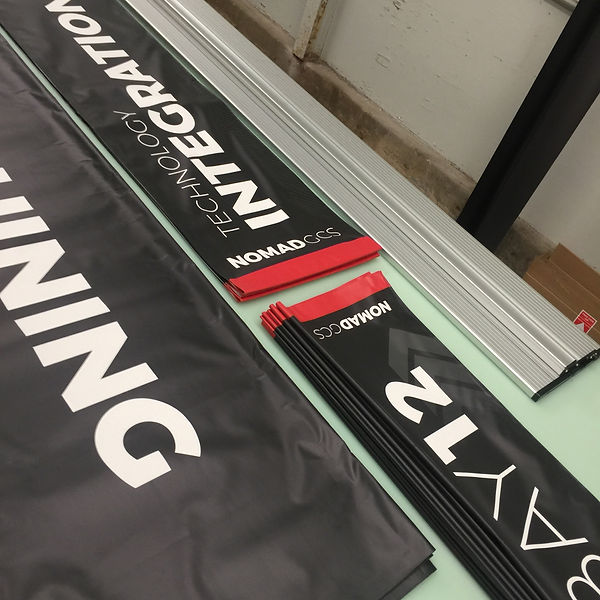 Wrap Hive can print high quality vinyl banners at any size.