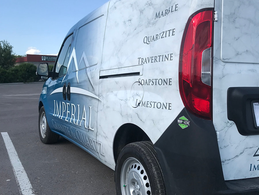 Full custom printed wrap by Wrap Hive in Kalispell, MT
