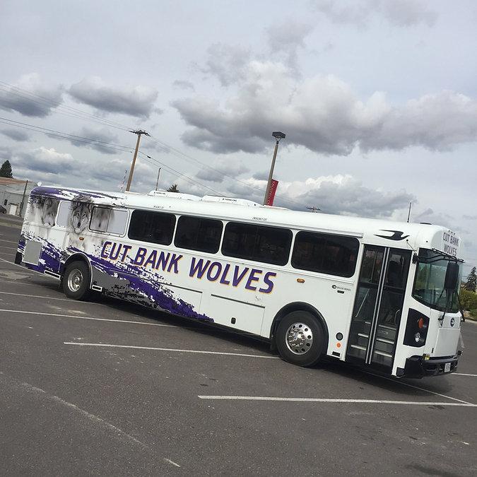 Bus wrap by Wrap Hive
