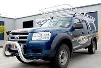 BtB Marine custom aluminium roof rack