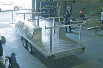 BtB Marine custom aluminium trailer