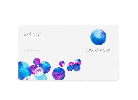 Biofinity - 6 lentilles
