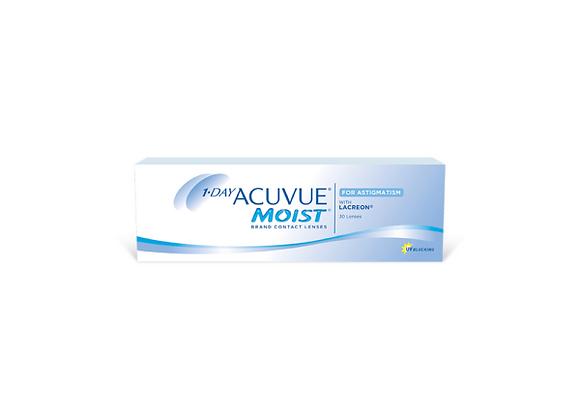 Acuvue Moist 1-day pour astigmatisme - 30 lentilles