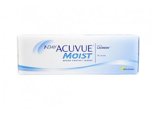 Acuvue Moist 1-day - 30 lentilles