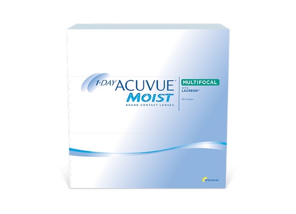 Acuvue Moist 1-day multifocale - 90 lentilles