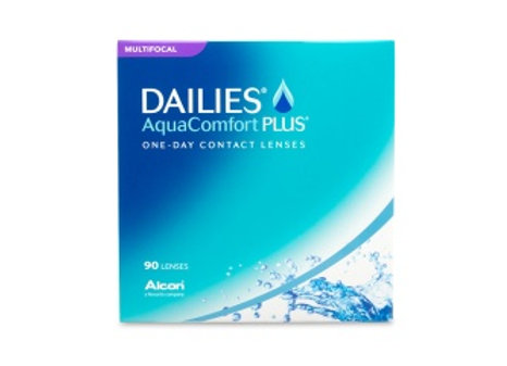 Dailies AquaComfort PLUS multifocale - 90 lentilles