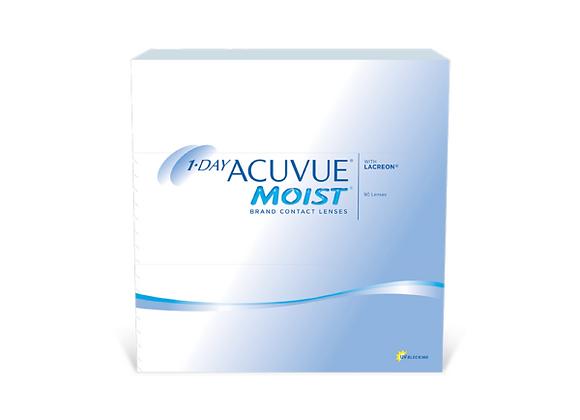 Acuvue Moist 1-day - 90 lentilles