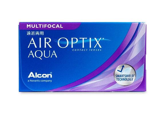 Air Optix AQUA multifocale - 6 lentilles