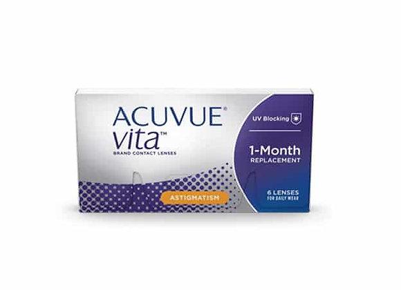 Acuvue VITA pour astigmatisme - 6 lentilles