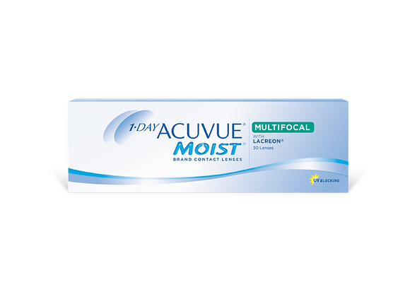 Acuvue Moist 1-day multifocale - 30 lentilles