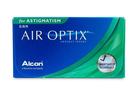 Air Optix AQUA pour astigmatisme - 6 lentilles