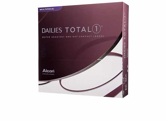 Dailies TOTAL 1 multifocale - 90 lentilles