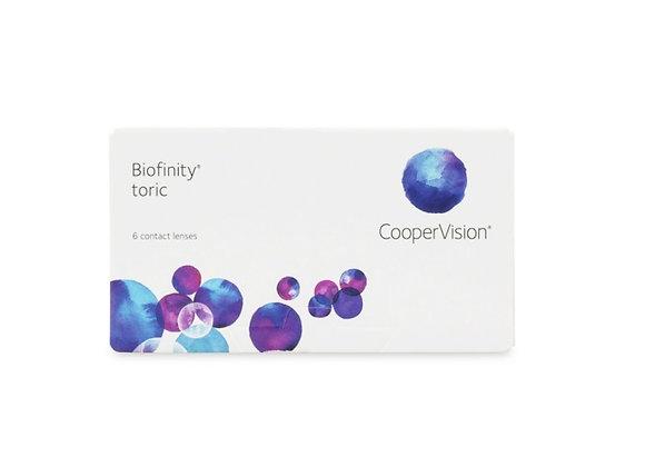 Biofinity torique - 6 lentilles