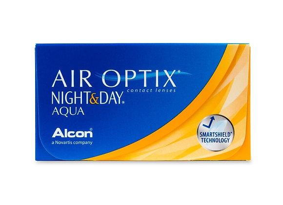 Air Optix AQUA Night & Day - 6 lentilles