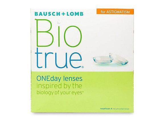 Biotrue ONEday pour astigmatisme - 90 lentilles