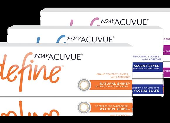 Acuvue Define 1-day - 90 lentilles