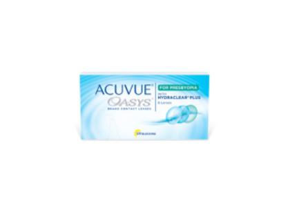 Acuvue Oasys pour presbytie - 6 lentilles