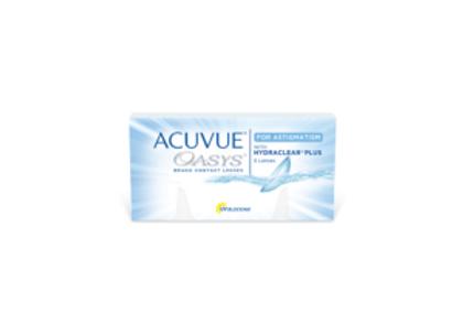 Acuvue Oasys pour astigmatisme - 6 lentilles