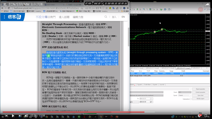 交易商的陰謀【二】(如何判斷MM,STP,ECN)(假ECN的分辨)(隔夜點差的絕招)