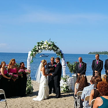 Beach Wedding Niagara