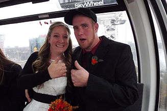 Sky Wheel Wedding