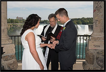 Niagara Falls Wedding