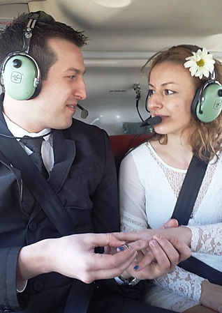 Helicopter Wedding