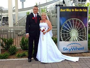 Skywheel Wedding