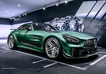 Der Carlex Mercedes AMG GT aus Polen sieht aus wie ein tätowierter Filmstar