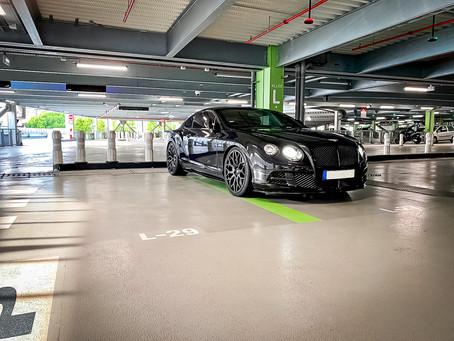 Power Tuning für den Bentley GT Speed mit LOMA Blackforce One 22-Zoll Alufelgen