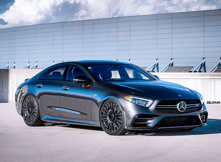 2020 Mercedes CLS Klasse mit LOMA Wheels in 21-Zoll und 500 PS Extra Power
