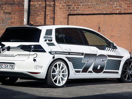 VW E-GOLF VON XXX PERFORMANCE UND SEVENTY6CARS MACHT SÜCHTIG