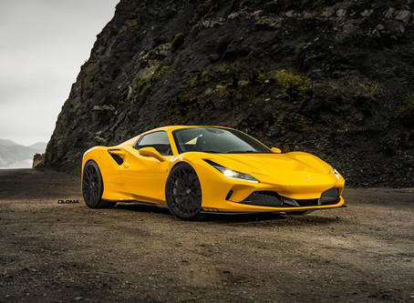 Erstes Tuning für den Ferrari F8 Tributo von LOMA Wheels.
