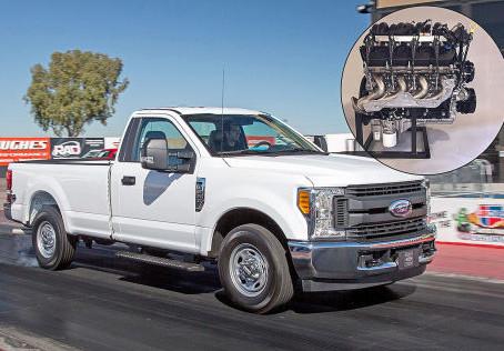 Ein 7,3 Liter großer V8-Sauger von Ford zum Selbsteinbau! Na dann, viel Spaß...