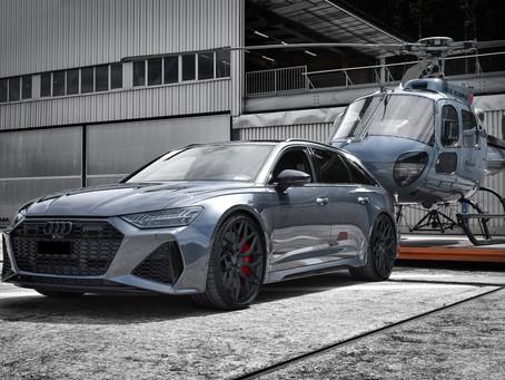 RS6 Audi Performance Tuning mit mehr Power und 22-Zoll Felgen von LOMA