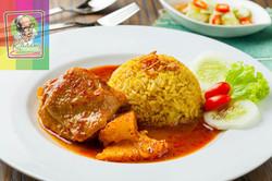 79 Chicken Massaman On Biryani Rice