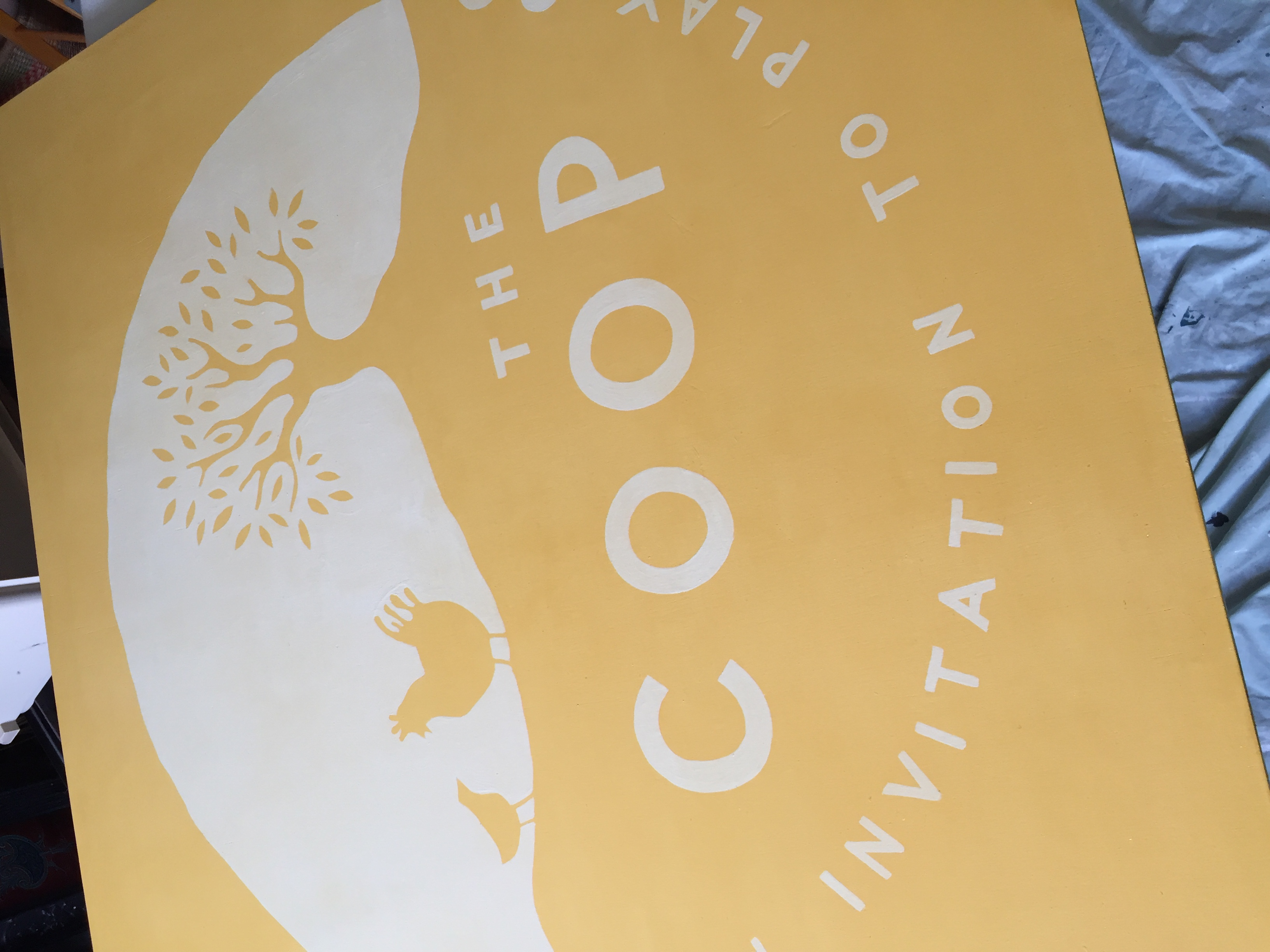 The Coop Sign