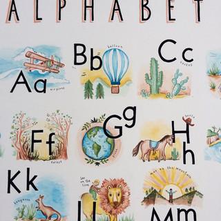 Max and Leo's Alphabet