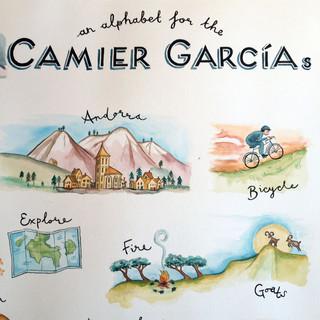 An Alphabet for the Camier Garcias