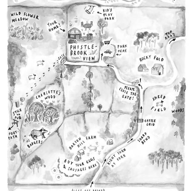 Phistlebrook View Map