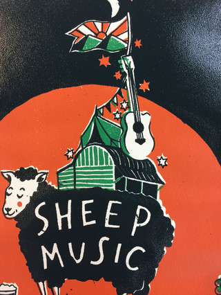 Different colourway for Sheep Music festival