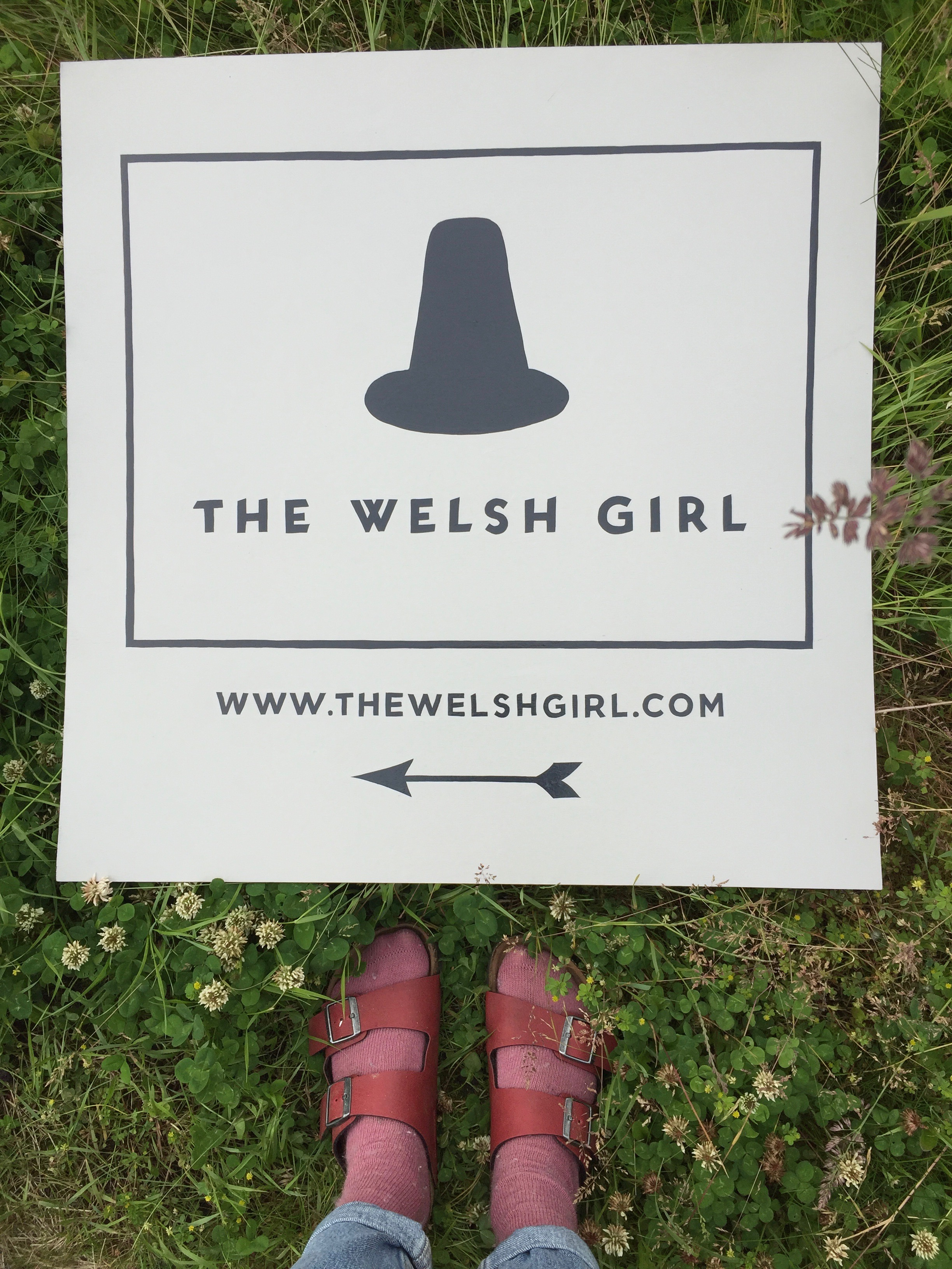 The Welsh Girl, Hay-on-Wye