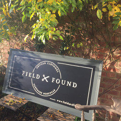 Field & Found Sign