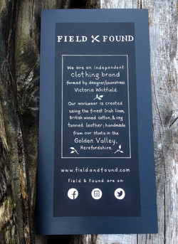 Field & Found Aprons