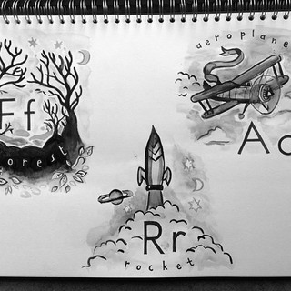Designs for Max and Leo's Alphabet