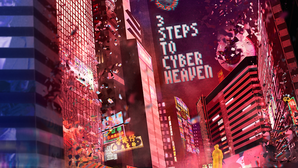 Three Steps to Cyber Heaven (Digital EP)