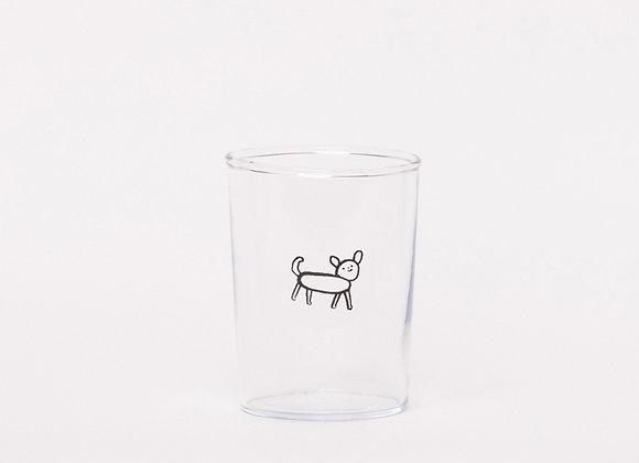 """""""super nice dog"""" glass"""