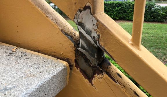 I&E Construction Rust Remediation