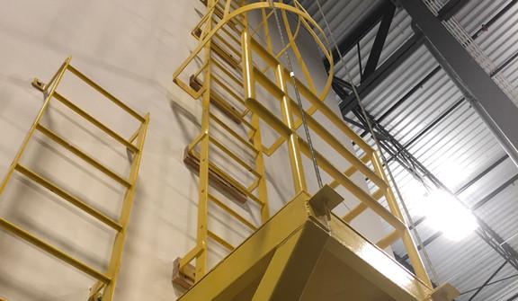 Becknell Inudstrial Roof Access Ladder.j