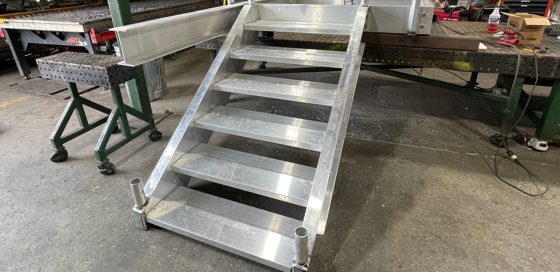 NCI Aluminum Stairs and Landing